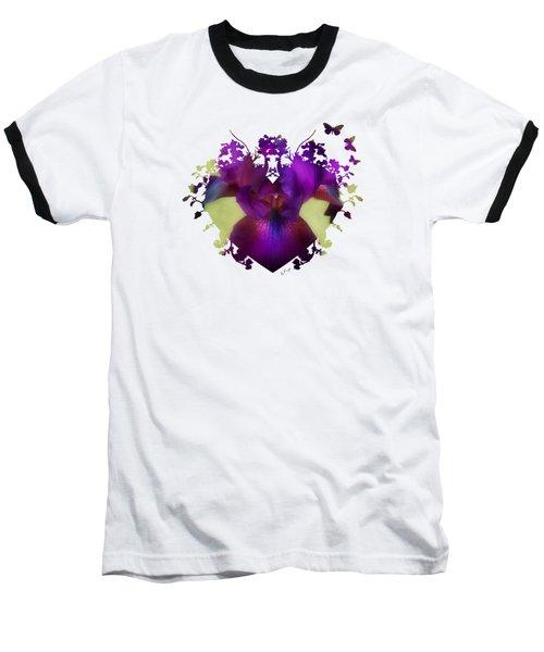 Deep Purple Baseball T-Shirt by Anita Faye