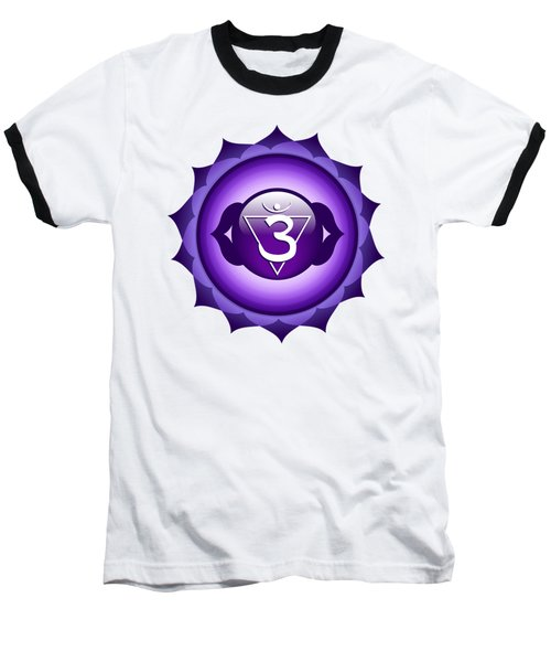 Third Eye Chakra - Anja Baseball T-Shirt