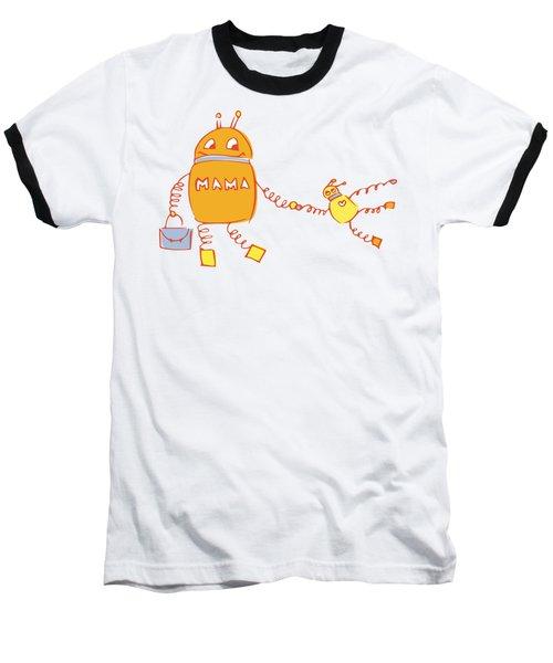 Robomama Baseball T-Shirt