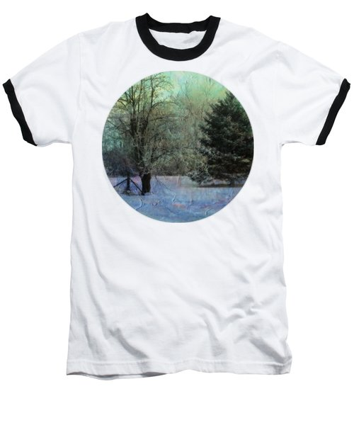 Into The Winter Morning Baseball T-Shirt