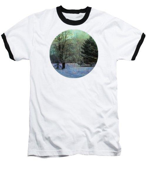 Into The Winter Morning Baseball T-Shirt