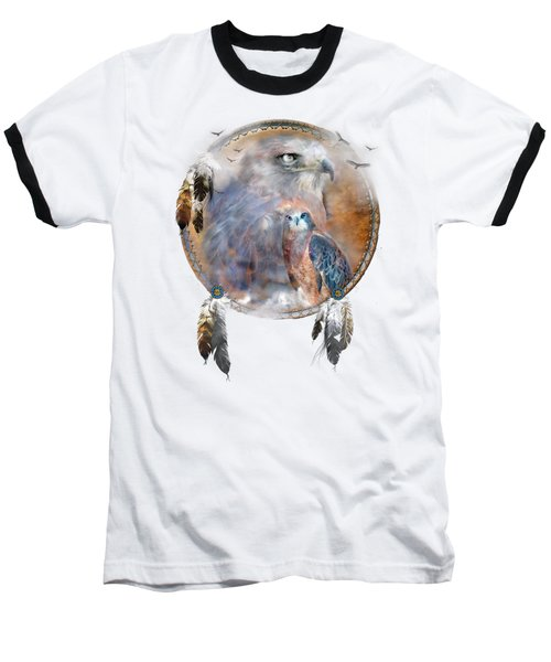 Dream Catcher - Hawk Spirit Baseball T-Shirt