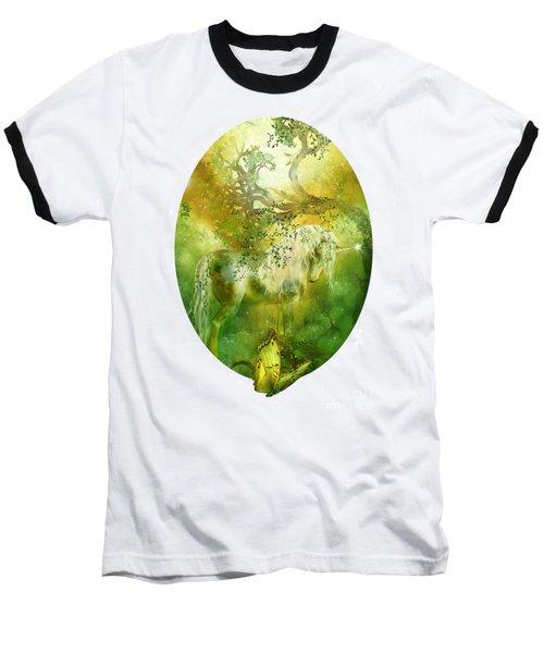 Unicorn Of The Forest  Baseball T-Shirt