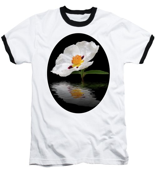 Baseball T-Shirt featuring the photograph Cistus Reflections by Gill Billington