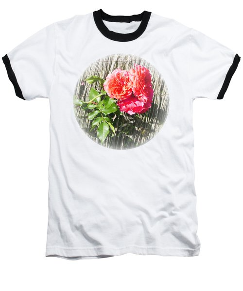 Floral Escape Baseball T-Shirt by Ivana Westin