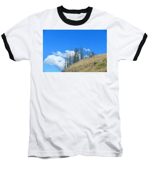 At The End Of The World Baseball T-Shirt