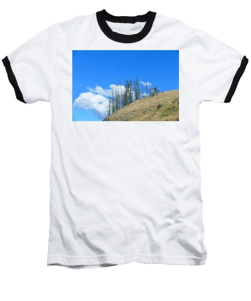 Baseball T-Shirt featuring the photograph At The End Of The World by Ivana Westin
