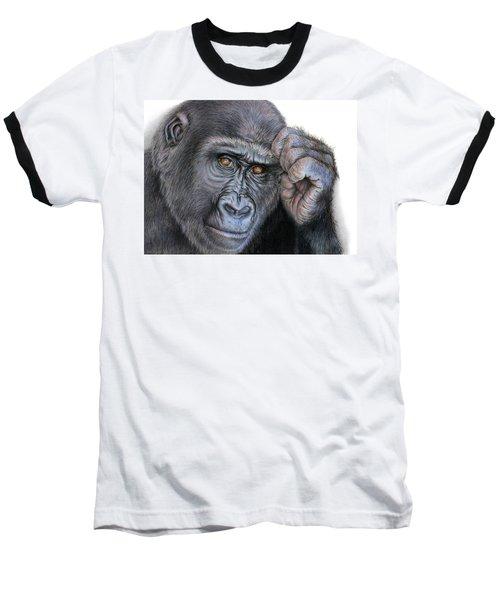 I Think Therefore I Am Baseball T-Shirt