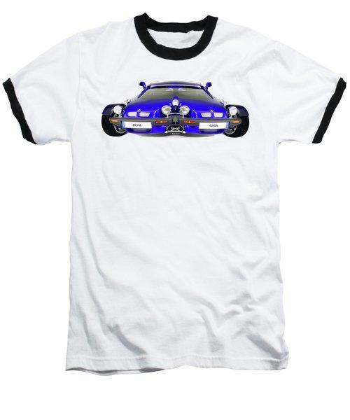 Dual Ghia Baseball T-Shirt by Rafael Salazar