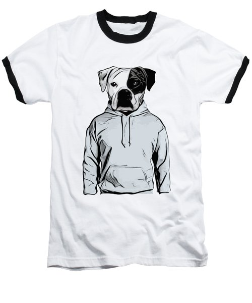 Baseball T-Shirt featuring the painting Cool Dog by Nicklas Gustafsson