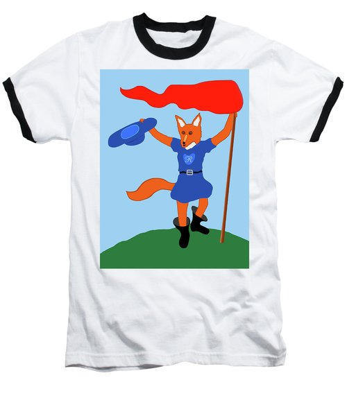 Reynard The Fairy Tale Fox Baseball T-Shirt