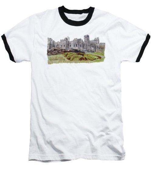 Castle Ward Baseball T-Shirt by Angeles M Pomata
