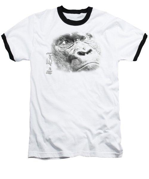 Big Gorilla Baseball T-Shirt by iMia dEsigN