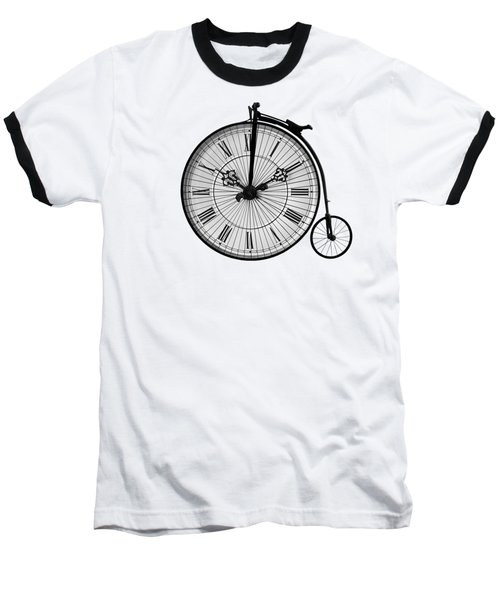 Time To Ride Penny Farthing Baseball T-Shirt