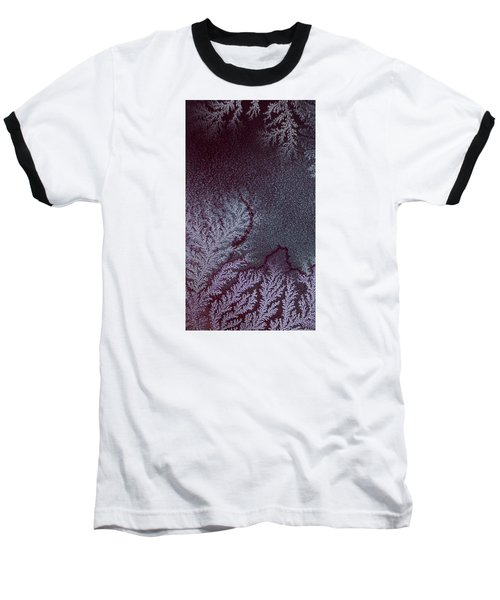 Baseball T-Shirt featuring the photograph Ammonium Chloride Crystal by Beauty of Science