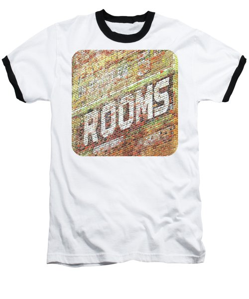 Rooms Baseball T-Shirt by Ethna Gillespie