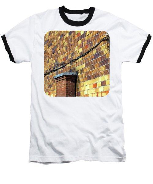 Bricks And Wires Baseball T-Shirt
