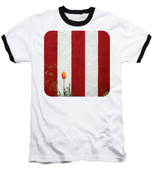 Baseball T-Shirt featuring the photograph Temple Wall by Ethna Gillespie