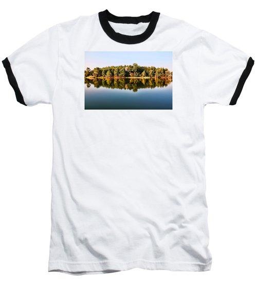 When Nature Reflects Baseball T-Shirt
