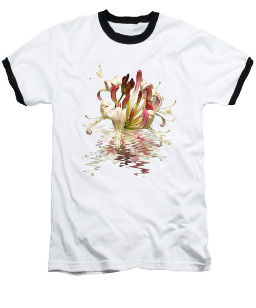 Honeysuckle Reflections Baseball T-Shirt