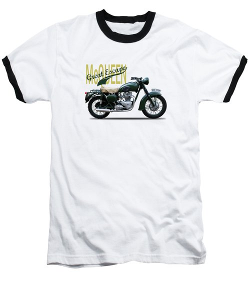 The Great Escape Motorcycle Baseball T-Shirt