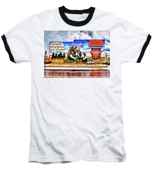 Large North Platte Wall Mural Baseball T-Shirt