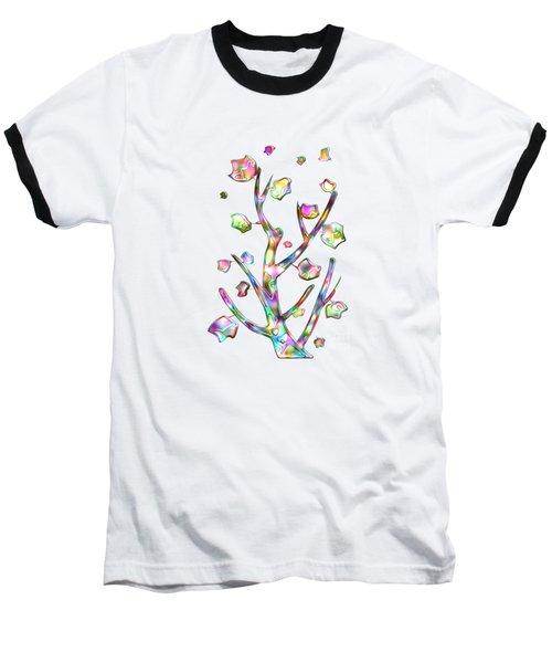 Rainbow Tree Baseball T-Shirt