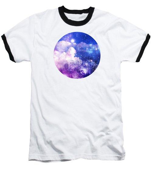 As It Is In Heaven Mandala Baseball T-Shirt by Leanne Seymour