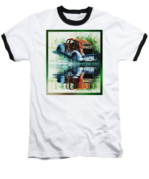 As Time Goes By. . . Baseball T-Shirt by Hartmut Jager