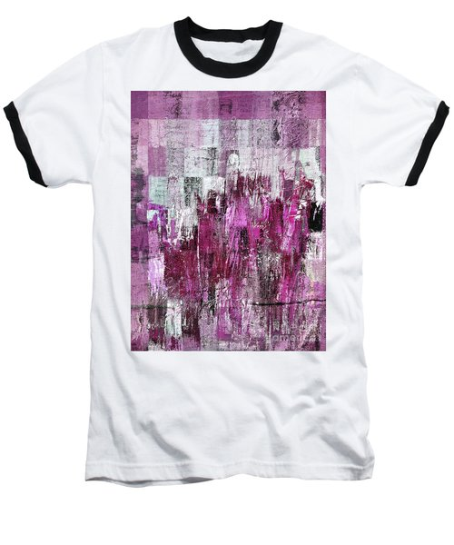 Baseball T-Shirt featuring the digital art Ascension - C03xt-165at2c by Variance Collections