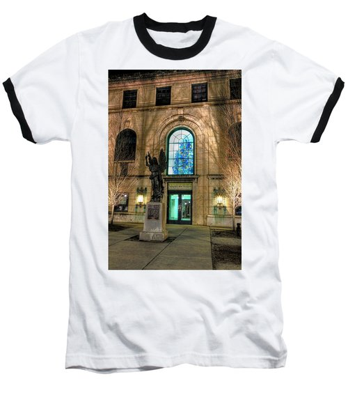 Asheville Art Museum Baseball T-Shirt
