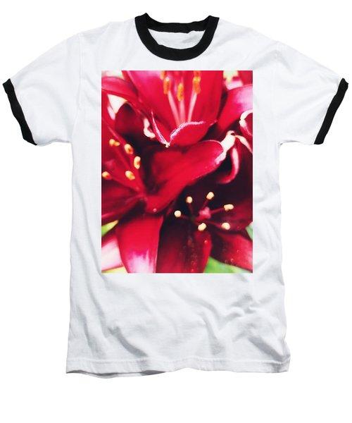 Asiatic Lilies Baseball T-Shirt
