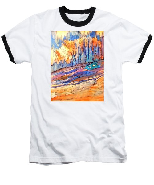 Aspen Abstract Baseball T-Shirt