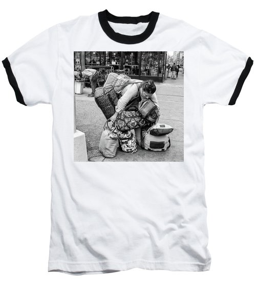 Bag Lady Baseball T-Shirt