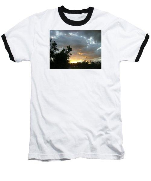 At Daybreak Baseball T-Shirt by Skyler Tipton