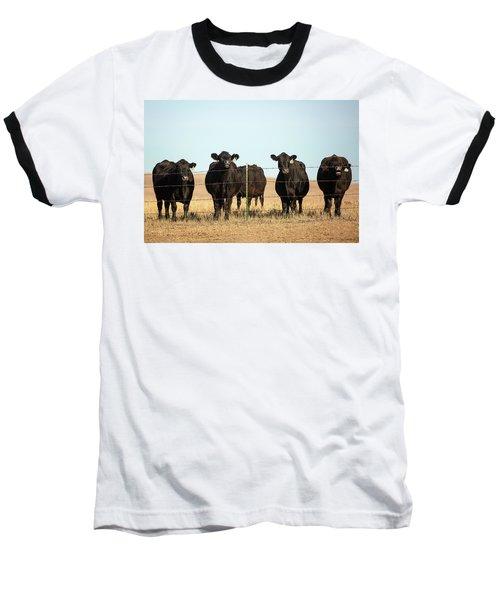 At The Fence Baseball T-Shirt