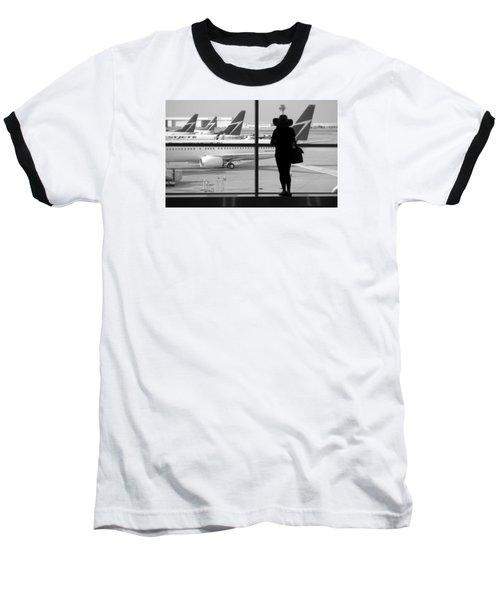 At The Gate Baseball T-Shirt by Valentino Visentini