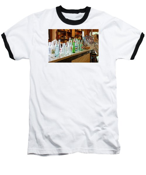Baseball T-Shirt featuring the photograph At The Store by Steven Clipperton