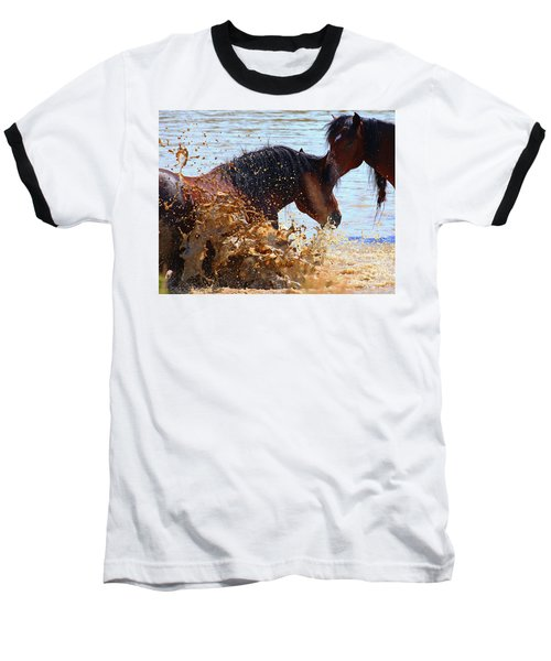 At The Watering Hole Baseball T-Shirt