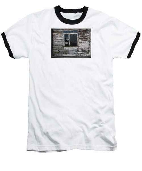 At The Window Baseball T-Shirt by Nareeta Martin