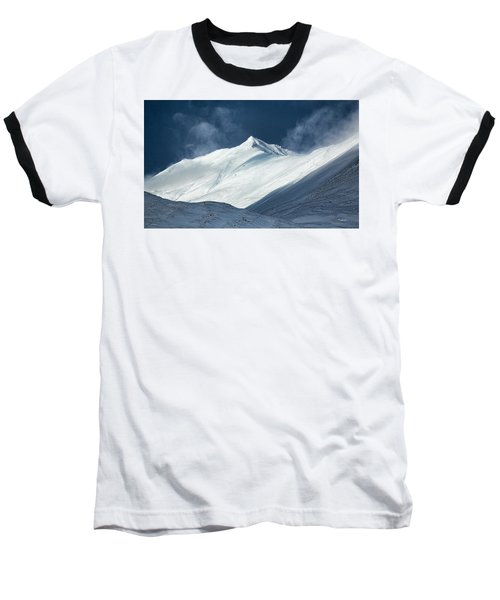 Atigun Pass In Brooks Range Baseball T-Shirt