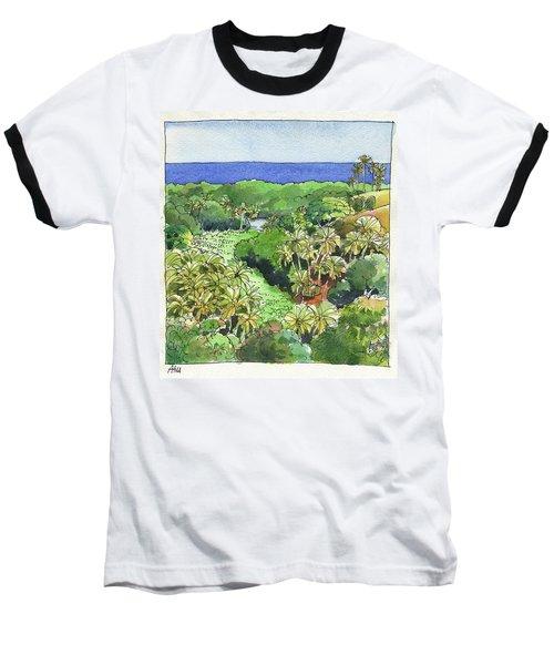 Atiu Lake View Baseball T-Shirt