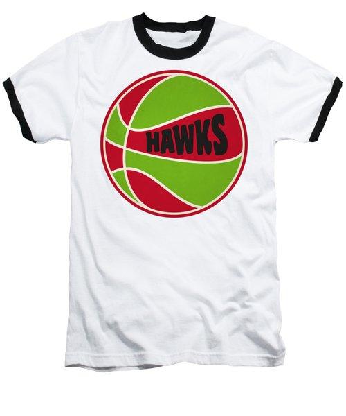 Atlanta Hawks Retro Shirt Baseball T-Shirt