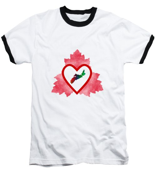 Atlantic Canada Baseball T-Shirt by Kathleen Sartoris