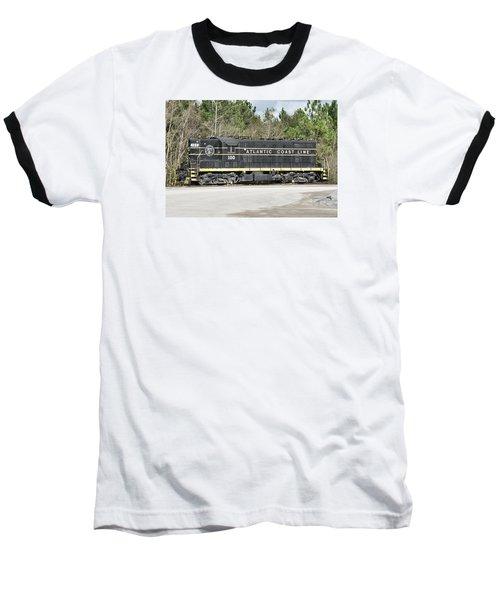 Atlantic Coast Line Gp7 #100 Baseball T-Shirt by John Black