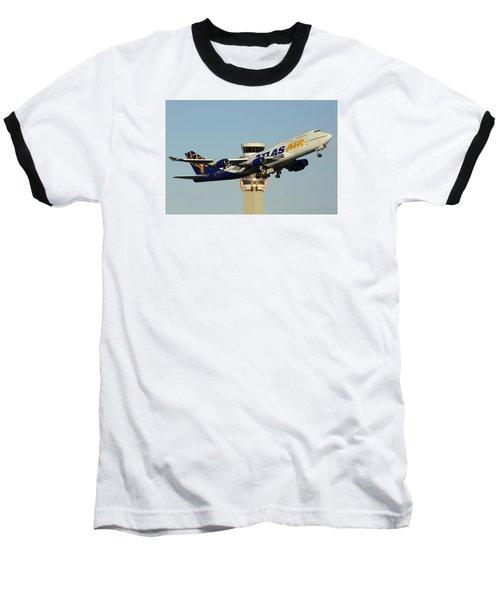 Atlas Boeing 747-446 N465mc Phoenix Sky Harbor January 3 2015 Baseball T-Shirt