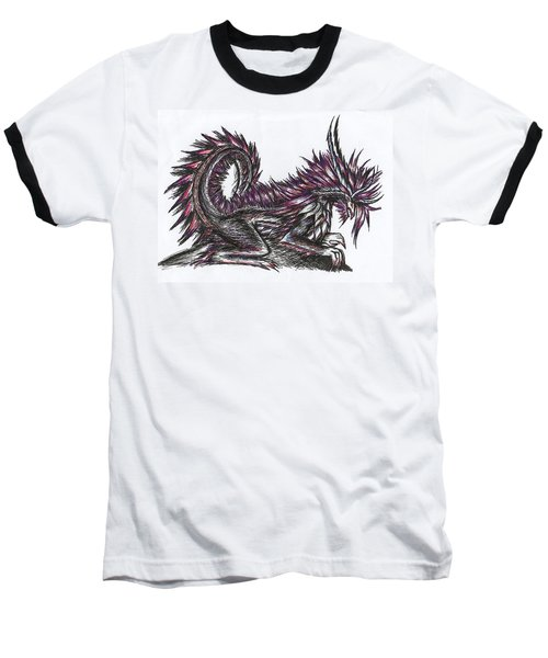 Atma Weapon Catoblepas Fusion Baseball T-Shirt by Shawn Dall
