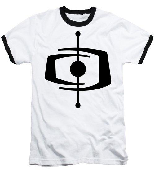 Atomic Shape 1 Transparent Baseball T-Shirt