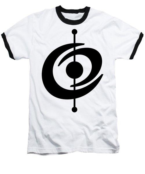 Atomic Shape 2 Transparent Baseball T-Shirt