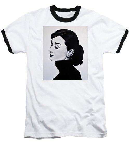 Audrey Hepburn 1 Baseball T-Shirt